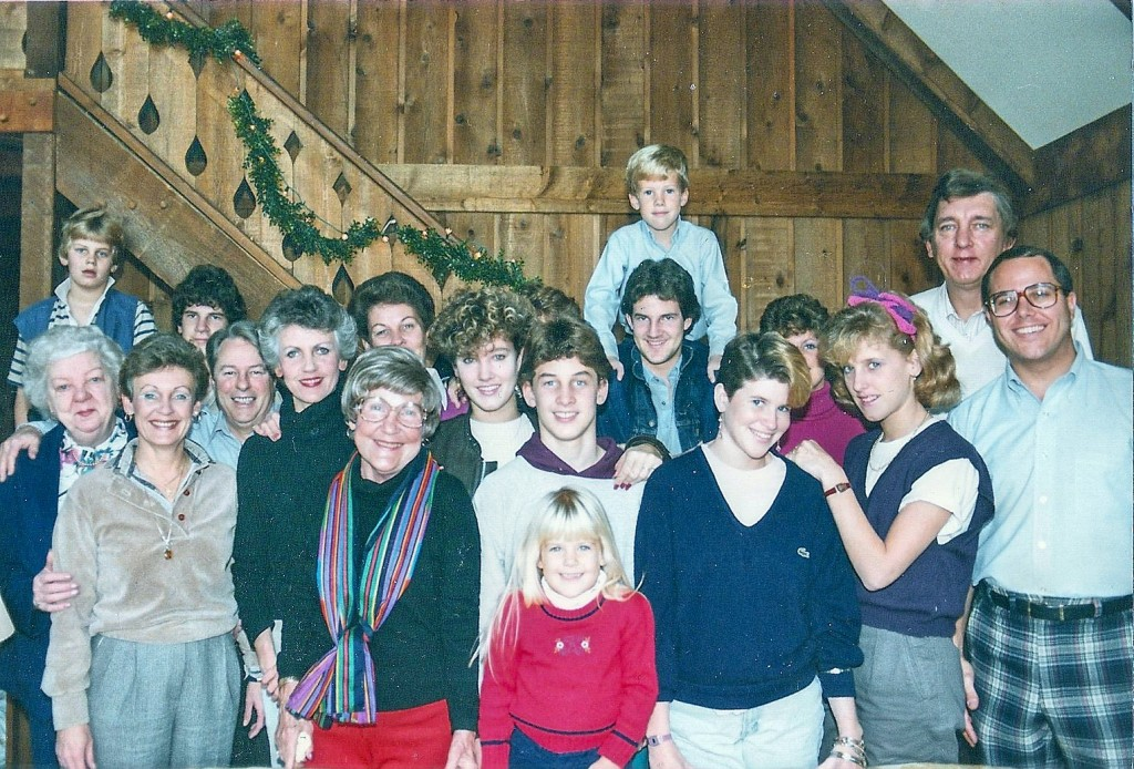 Oh, what a beautiful family of the 1980's. Can you pick out the currently divorced, deceased, born-again, estranged, and disaffected?
